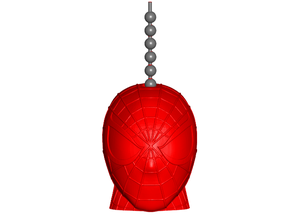 Spiderman Pull Ball Chain, Keychain Knob | Handle | Fob | Finials