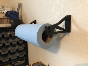 Easy Paper Towel Holder