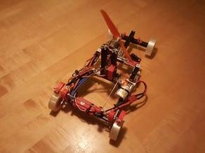 Propeller RC car