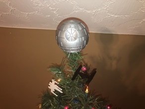 Another Death Star Christmas Tree Topper