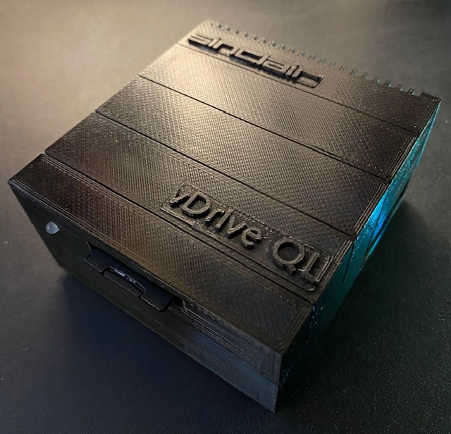 vDrive ZX / QL case for ZX Spectrum / Sinclair QL Microdrive Replacement
