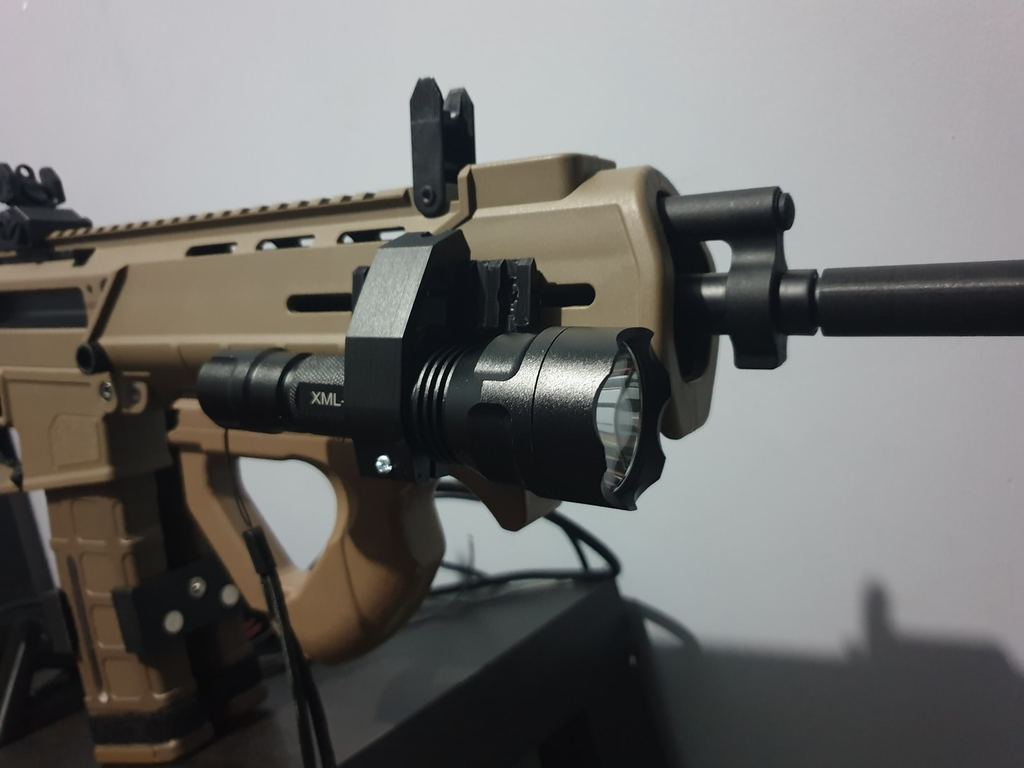 Picatinny rail Tactical Torch Attachment