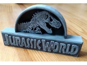 Jurassic World or Park logo LEGO compatible