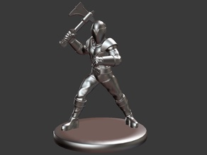 Titanium Ranger (Power Rangers) Miniature