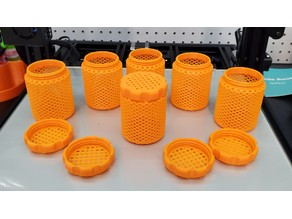 Better Knurled Cap, Better Cap Threads, & Thinner Walled Silica Gel Container