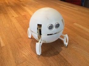 Spherical Quadruped Robot