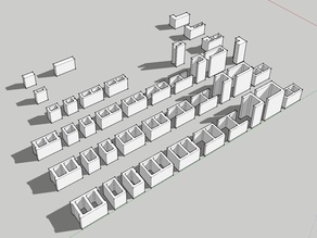 Concrete Masonry Units (CMU) at 1:14 Scale