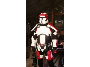 Star Wars Republic Trooper Helmet Fixed
