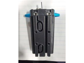 Anycubic Predator carriage with adapter plate one assembly and motor spacer to complete upgrade after installing linear rails.