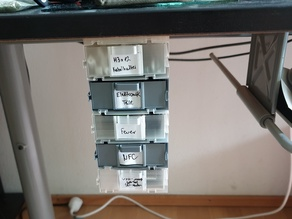 Fast Box Desk Mount