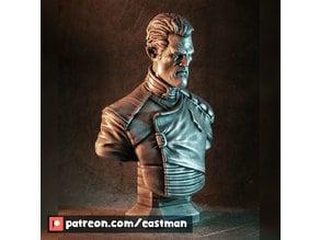 Admiral Gord bust (original)