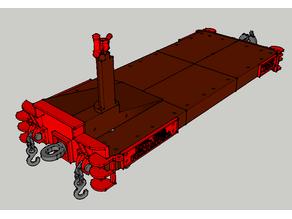 Chasis del tender para la locomotora Baldwin.