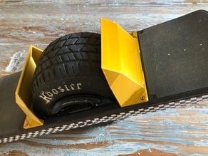 Onewheel pint fender cyberfender inspired by the Tesla cybertruck