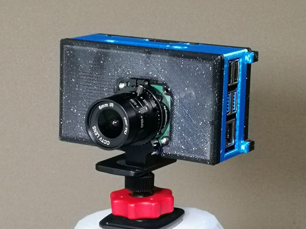 Pi High Quality Camera Case