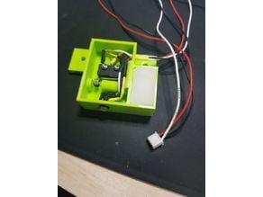 "Filament runout sensor with Cleaner ""Magic Sponge"""