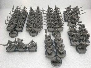 Massive Darkness figure organizing trays