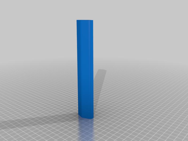 Collapsing Darksaber Grip for Easier Lay-Down Printing
