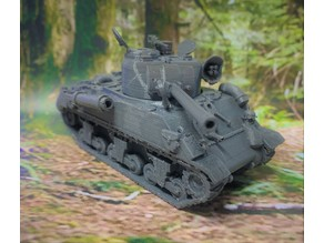 28mm - OddBall's Sherman Tank - Kelly's Heroes