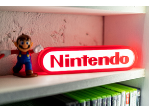 Nintendo logo LED Sign