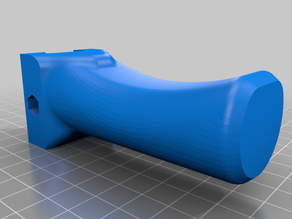 Airsoft Foregrip Easy Print Moved Hole Remix