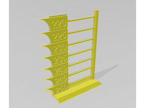 Torre de temperatura y puentes para ABS