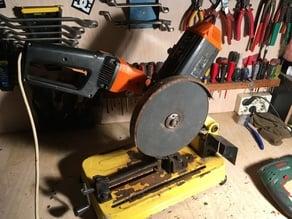 Acople para mando de amoladora circular (transformacion DIY)