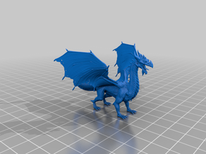 heroic scale mature dragon - dnd monster - dp - hp