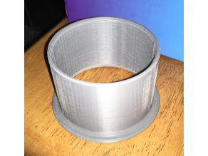 76mm End for Wind Simulator Ducting