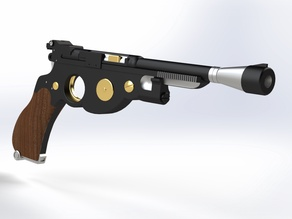 The Mandalorian Blaster v2  (Split)