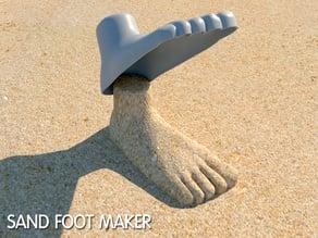 sand foot maker