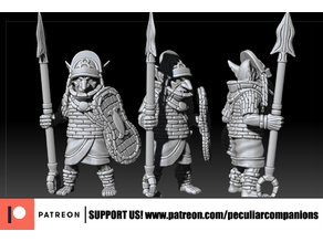 Goblin Spearmen 02 - tribal african