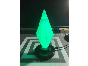 Sims light-up Plumbob with WS2812b lights