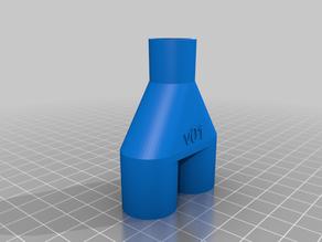 Ventilator Y (wye) adapter