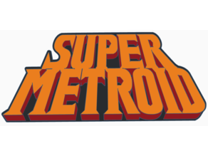 Super Metroid Logo HD