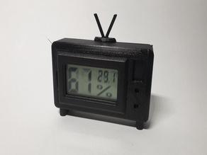 Hygrometer/Thermometer Holder Stand