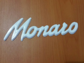 Holden Monaro Badge