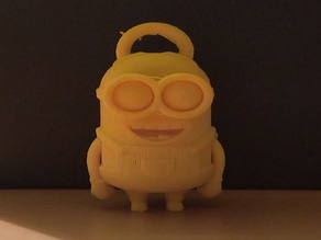 Minion Dave with Keychain loop