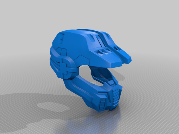 Halo Legends Fred Centurion Helmet By Moesizzlac Thingiverse