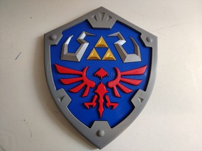 The Legend of Zelda - Hylian Shield multi-parts