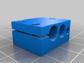 3D model E3D V6 extruder