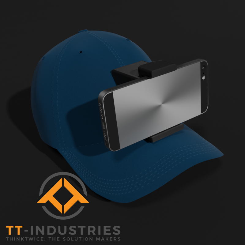 GembaCap - HandsFree Smartphone Mount
