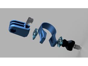 GoPro Adapter for Bike Handlebar