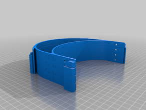 Covid-19 Face Shield-> German Standard <-  (like Prusa Face Shield) by CR-3D