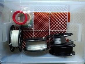 Ikea Samla 45l drybox mesh (6 parts)