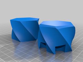 Twisted hexagon box - Vasemode