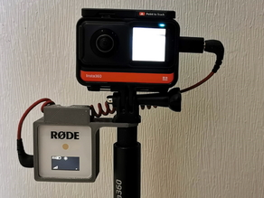 Rode Wireless Go - Invisible Mounting Cage for Insta360's