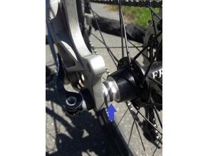 Bicycle Rear Hub Axle Spacer MTB