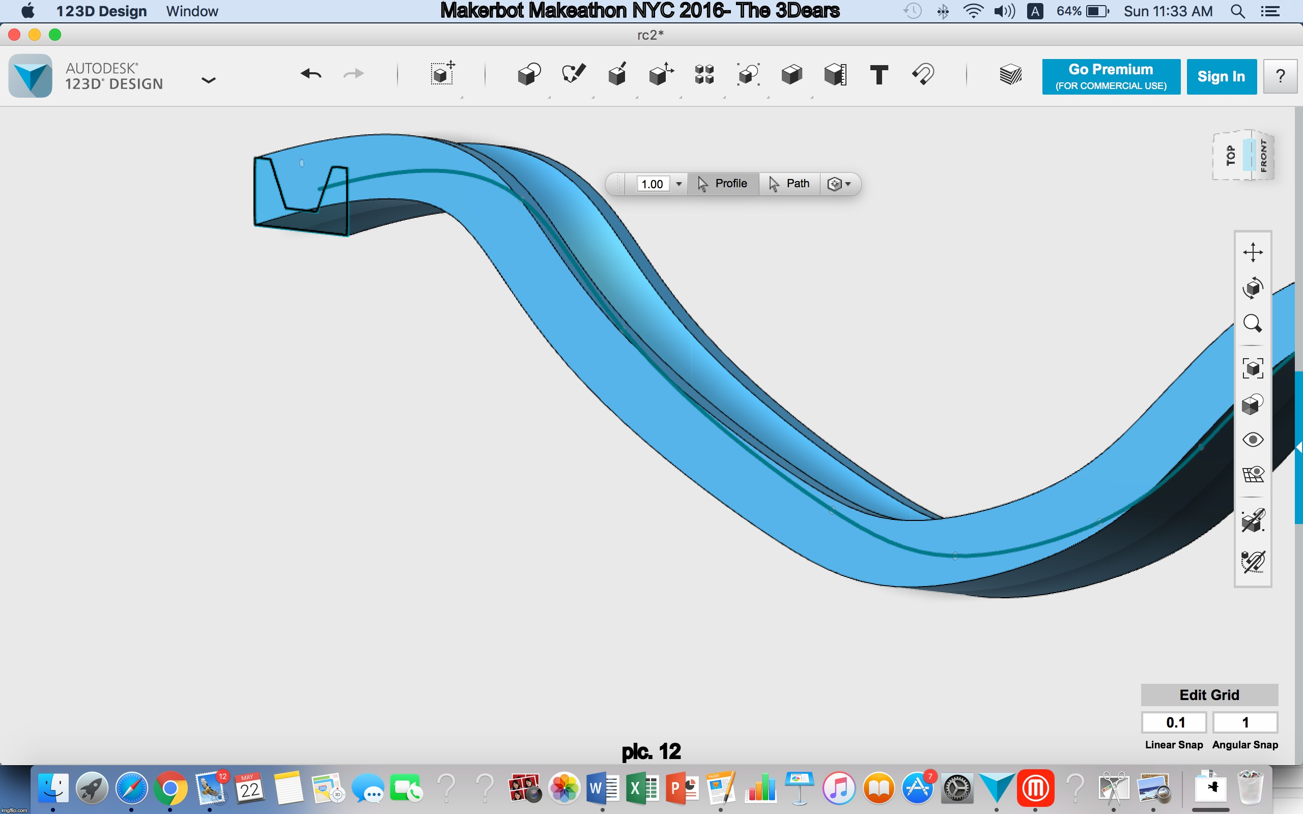 Designing a Mathematical Rollercoaster by anudelman - Thingiverse