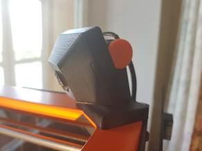 Camera case with magnet mount for USB4K02AF