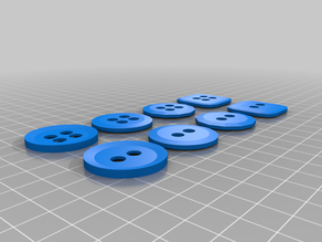 Set of Buttons (4 and 2 holed)